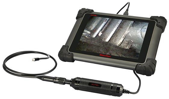 video inspectiescope,inspectiecamera,inspectie scope,video's opnemen,videoscoop,Automotive,autel,mv105,Endoscoop,voertuig,auto,camera